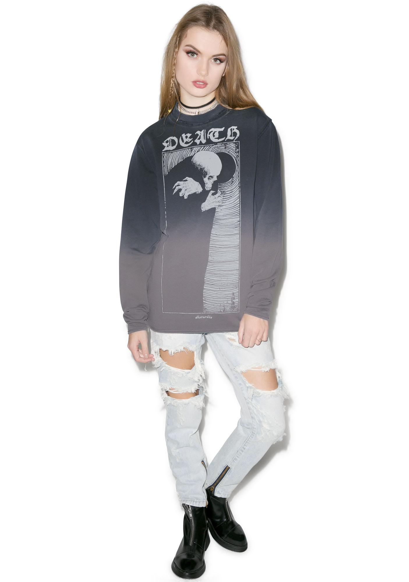 Disturbia Death Sweatshirt