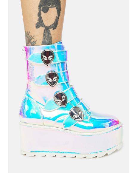 Atlantis Karma Alien Platform Boots