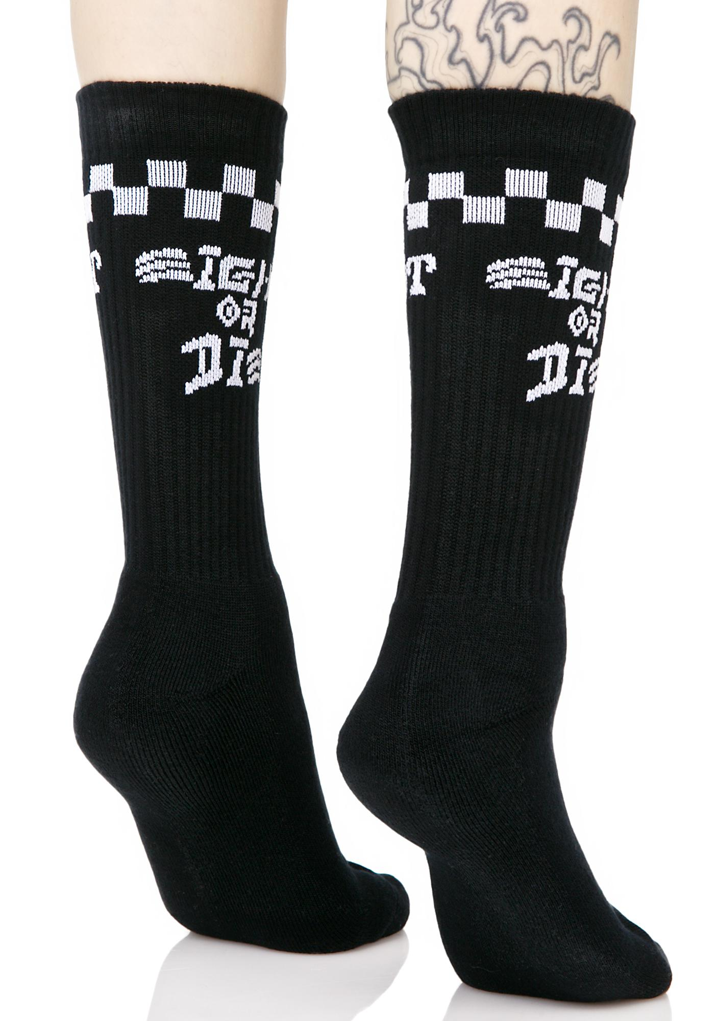 Rebel8 Eight Or Die Socks