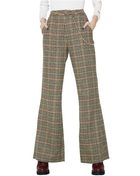 Money Maker Plaid Pants