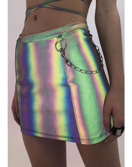 Flashed Reflective Skirt