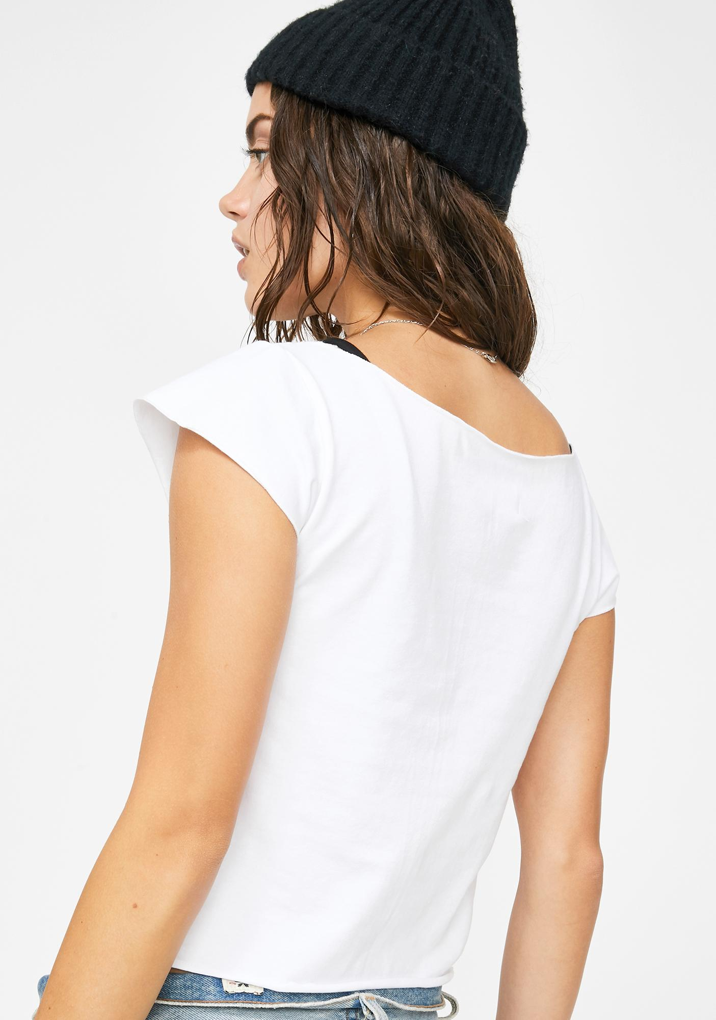 Why Not Us Butterfly Graphic Tee