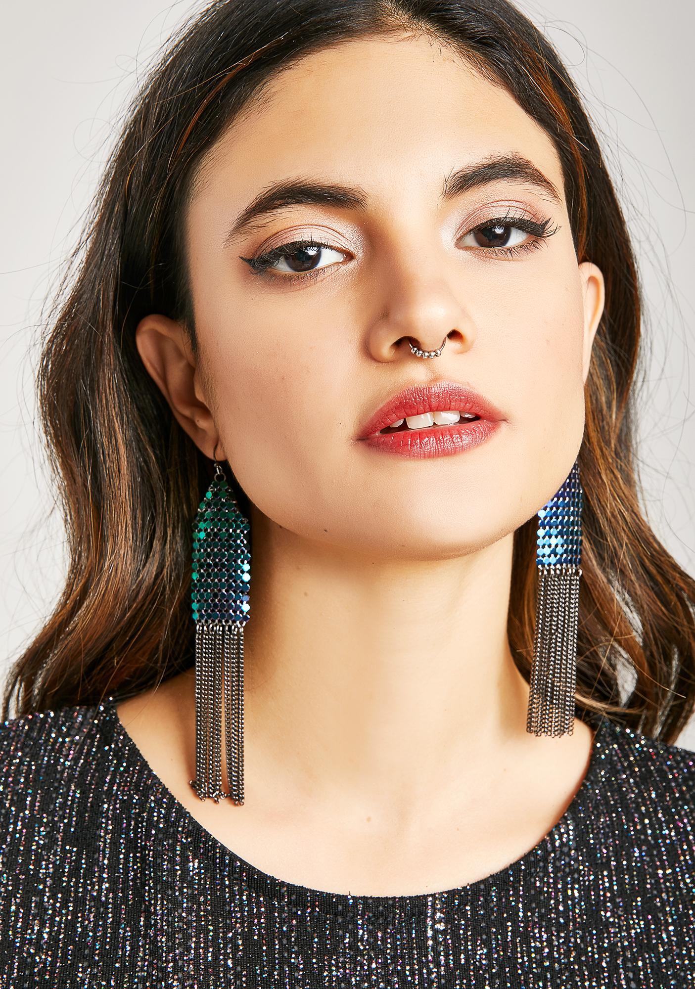 Bold Move Chain Earrings