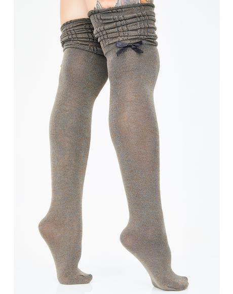 Not Your Sweetie Scrunch Socks