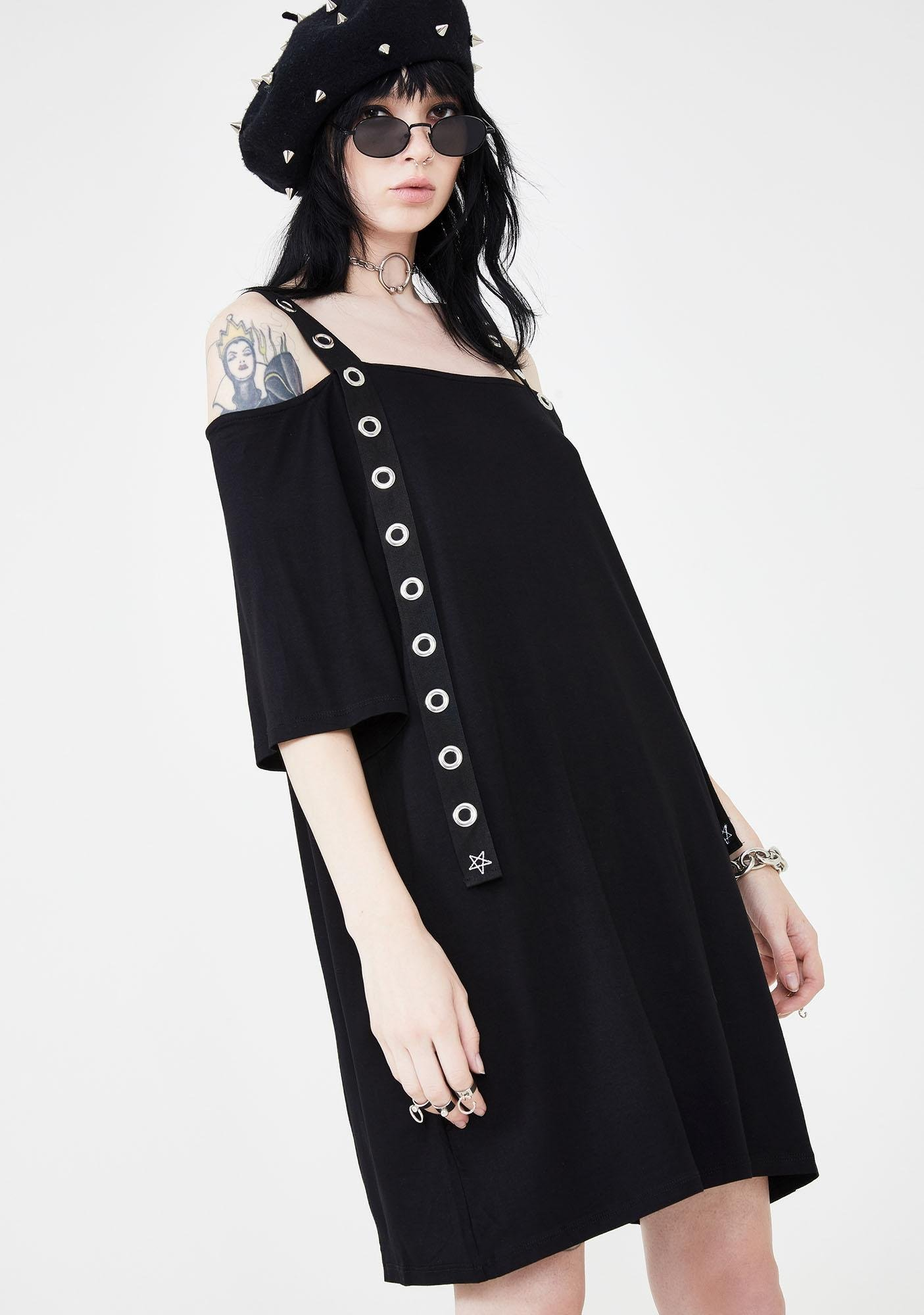 Disturbia Belt Tee Dress