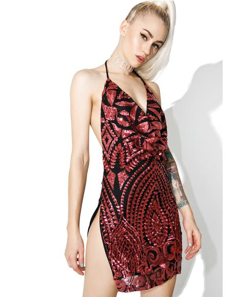 Printed All Nighter Mini Dress