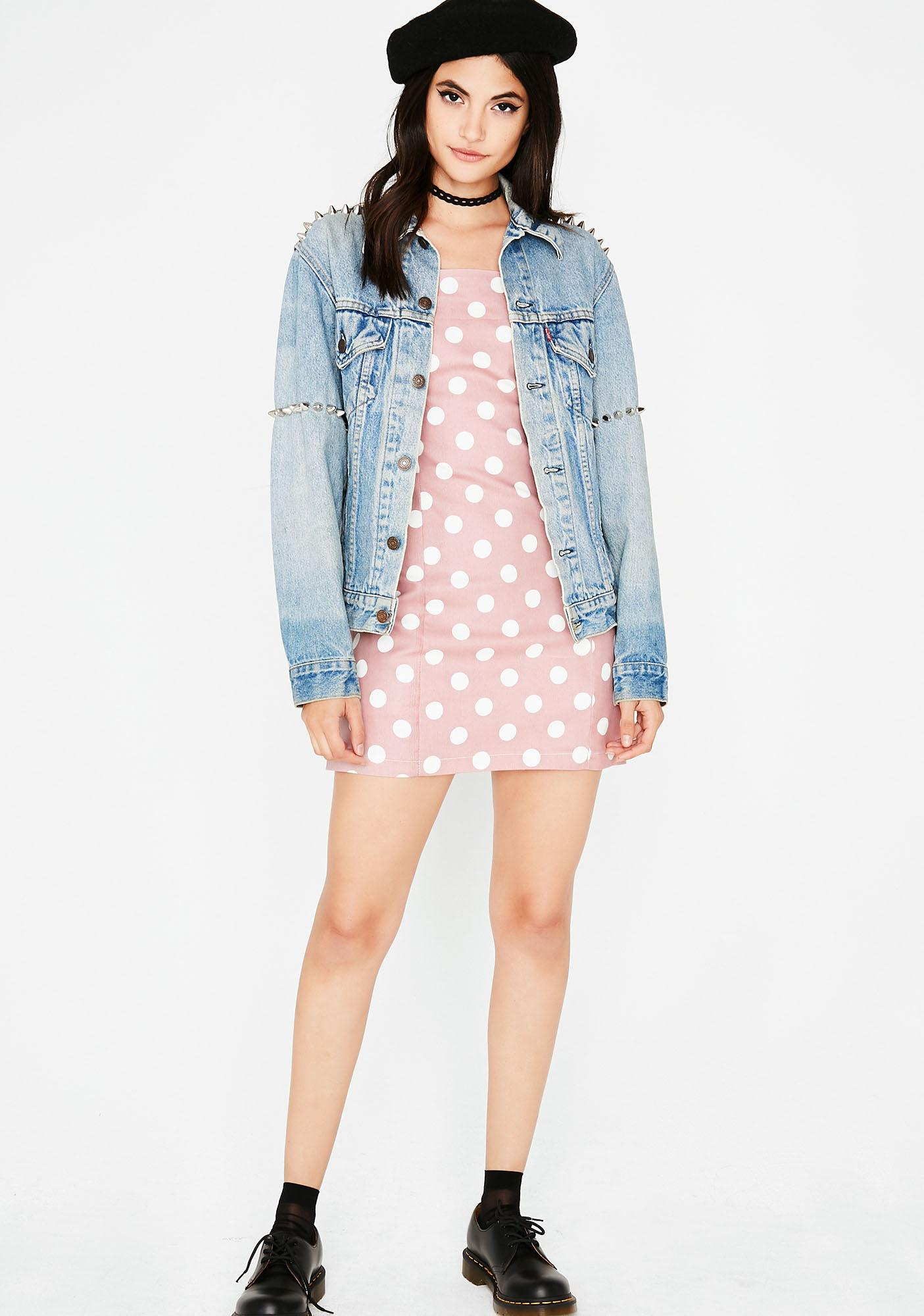 Dippin' For Dots Mini Dress