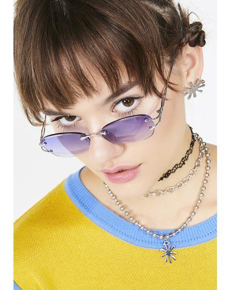 Main Chica Frameless Sunglasses