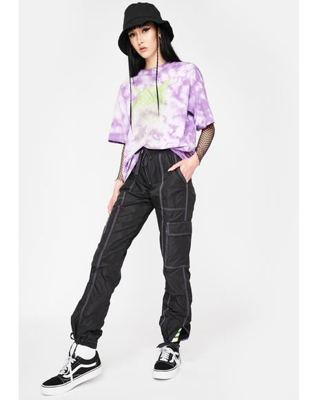 Cyber Goth Cargo Pants