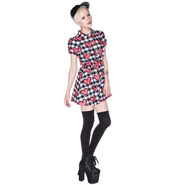 Joyrich Hyper Heart Uniform Dress