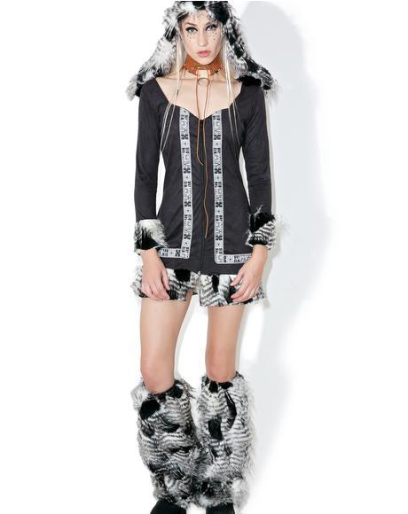 Arctic Tundra Temptress Costume