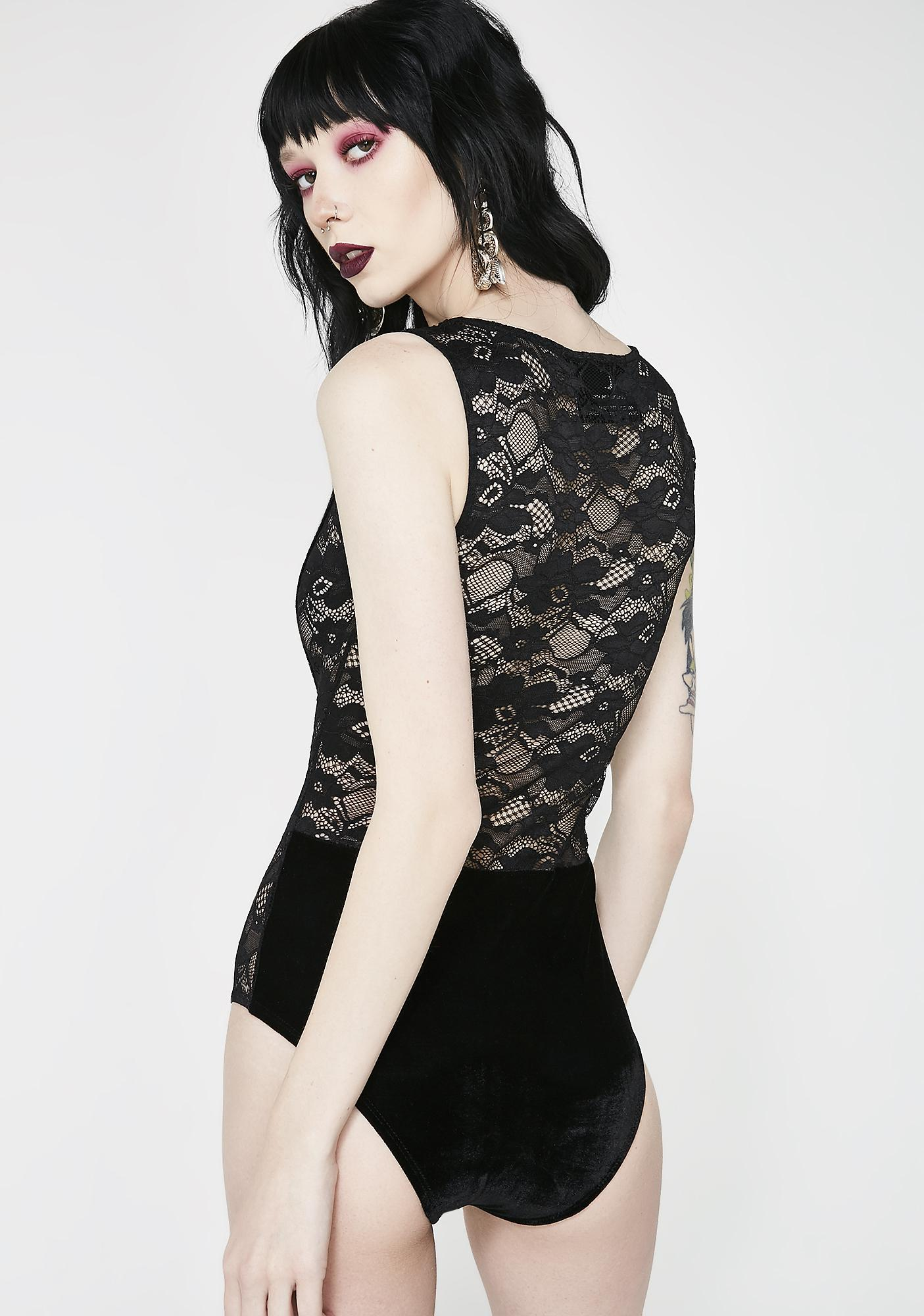 Killstar Saya Lace-delic Bodysuit