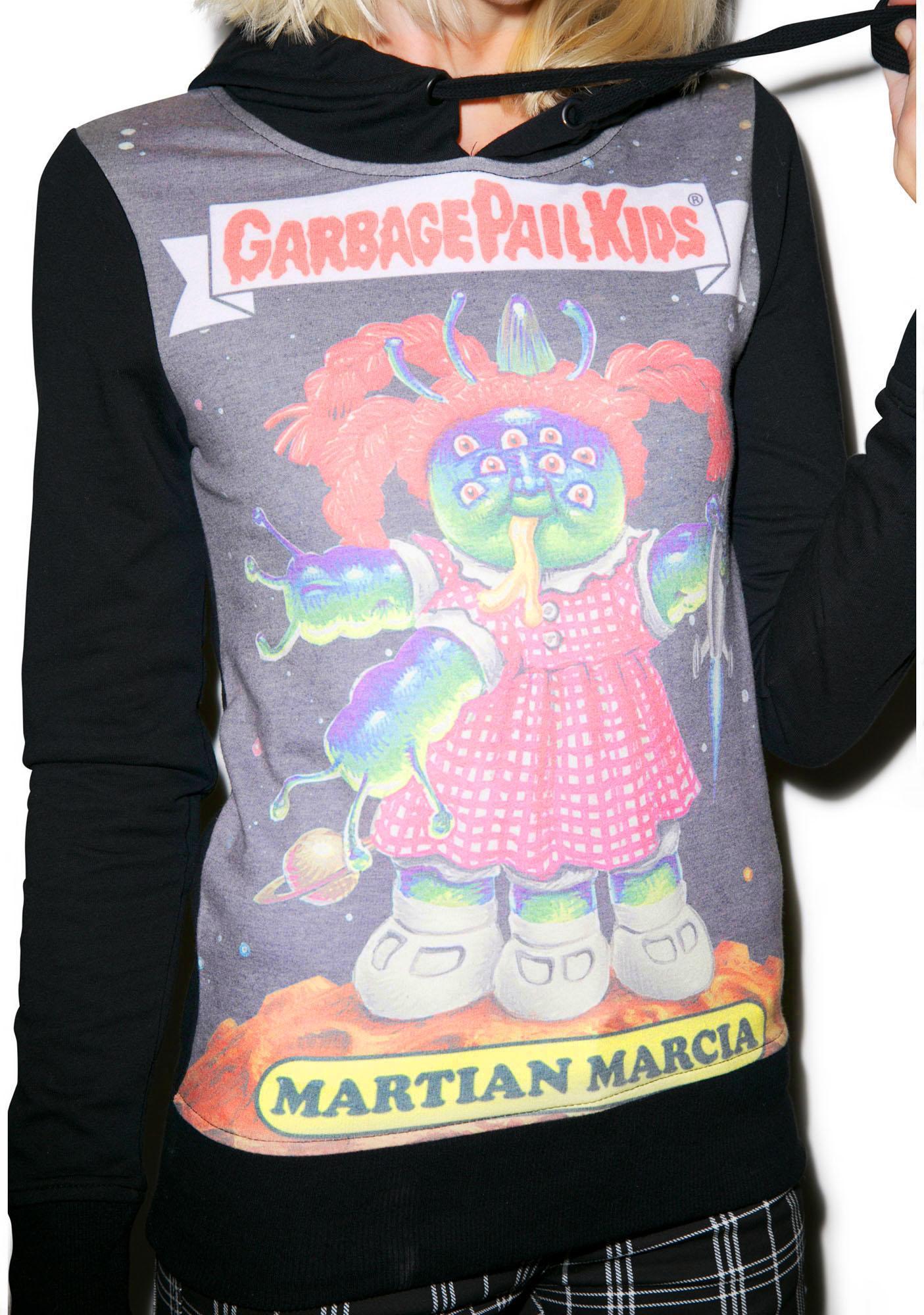 Iron Fist Garbage Pail Kids Martian Marcia Hoodie