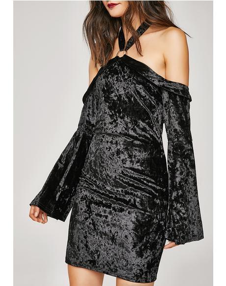 Show Off Velvet Dress