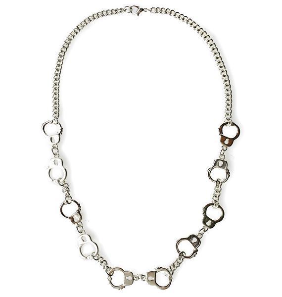 Restrain Me Chain Necklace