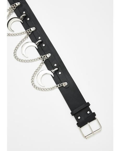 Moon Rawk Chain Belt