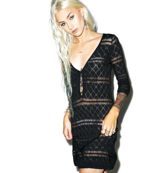 For Love & Lemons Stevie Mini Dress