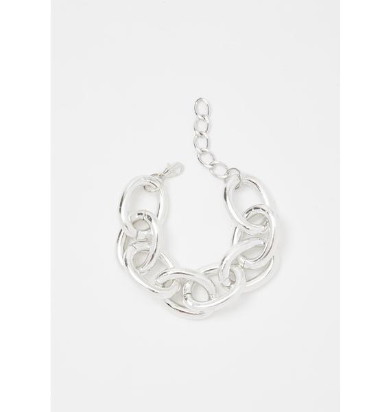 Rattled Soul Chain Bracelet