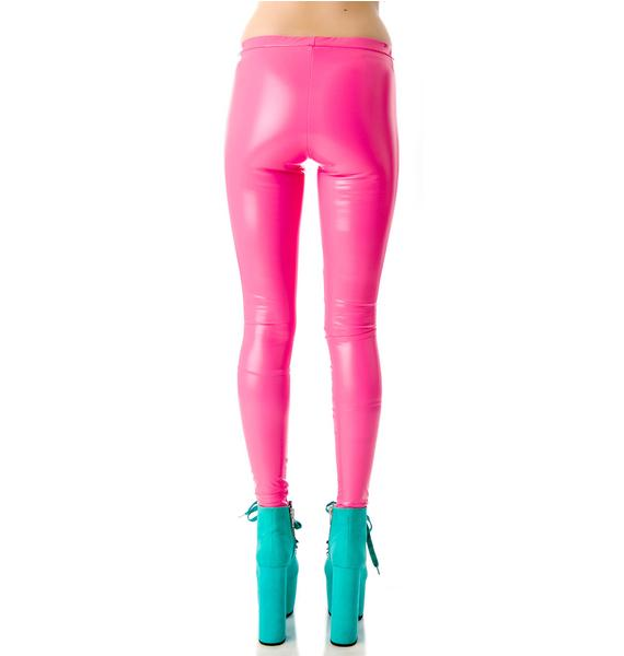 Tentacle Threads PVC Leggings