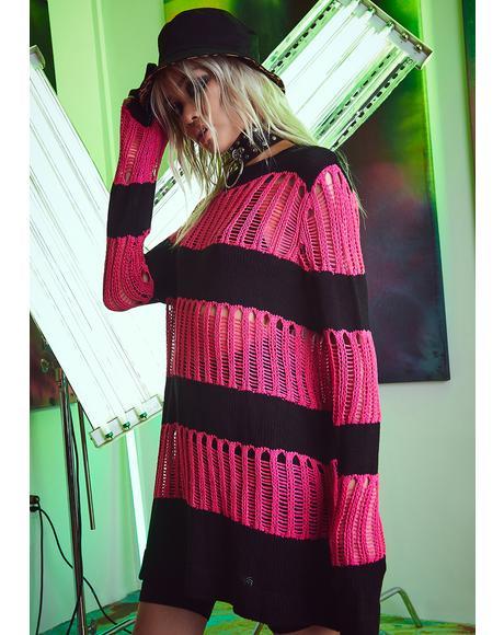 Gone Bad Oversized Sweater