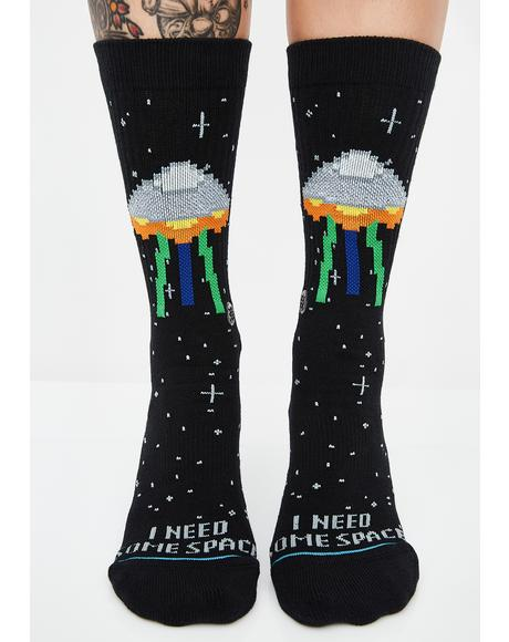 I Need Some Space Socks
