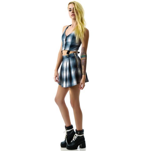 UNIF Dropout Suspender Dress
