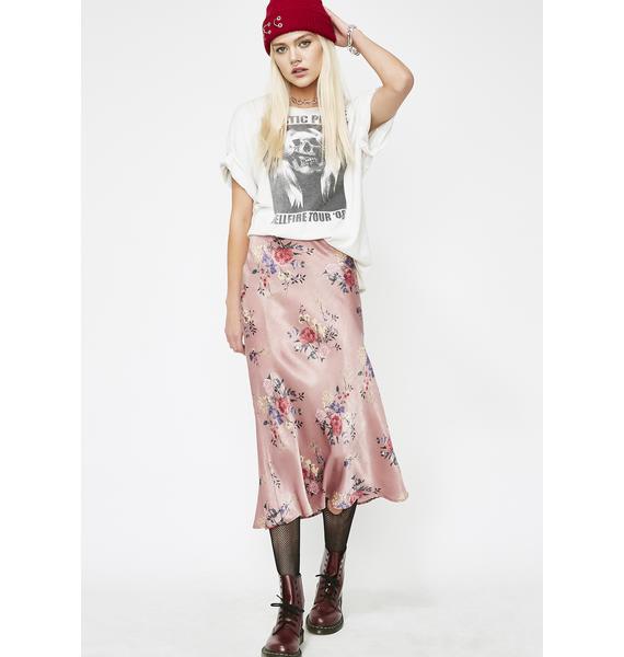 Afternoon Delight Midi Skirt