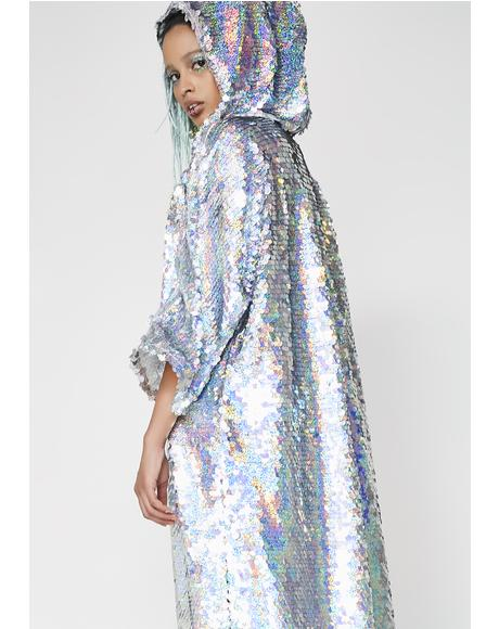 Fly Fairy Sequin Duster