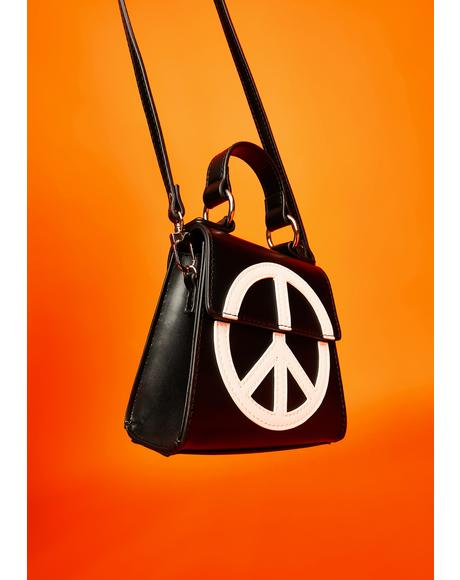 Spreading Peace Mini Crossbody Bag