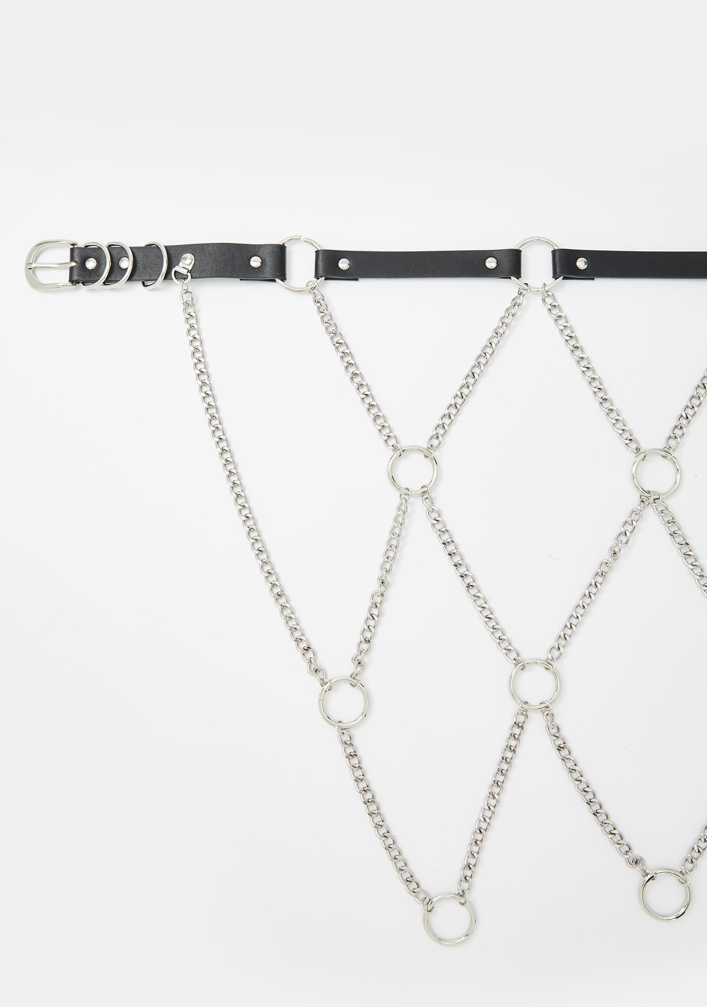 Face The Truth Chain Belt