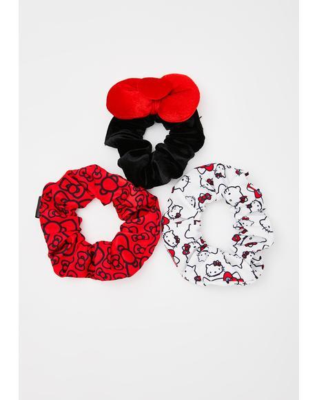 Wonderland Woes Scrunchie Set