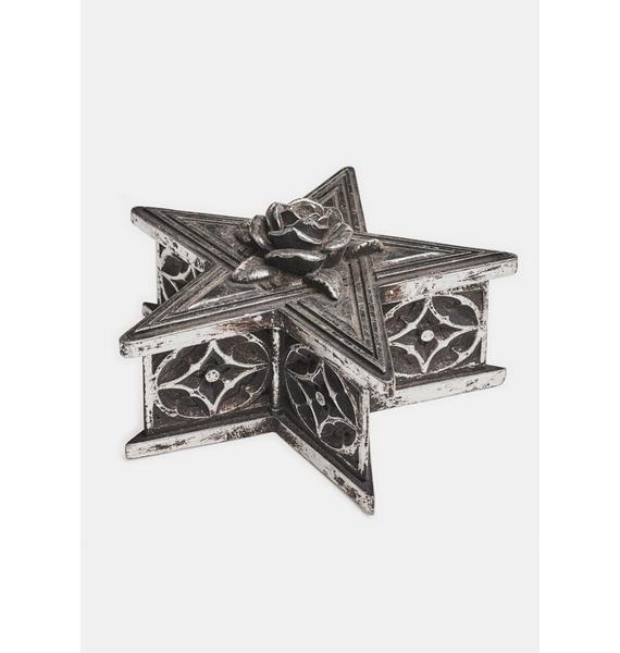 Alchemy England Pentagram Trinket Box
