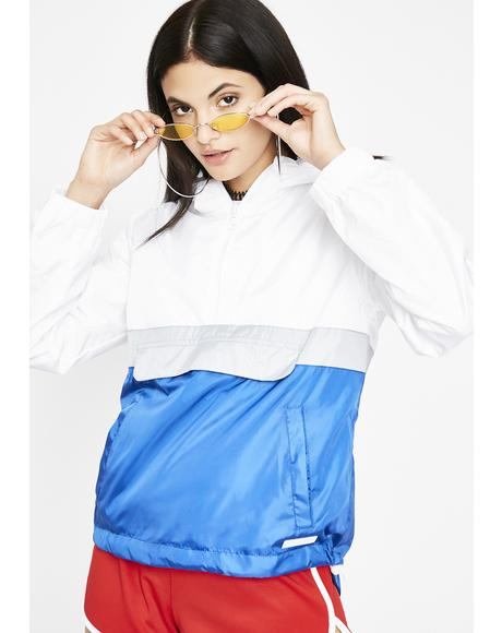 Track Star Colorblock Windbreaker