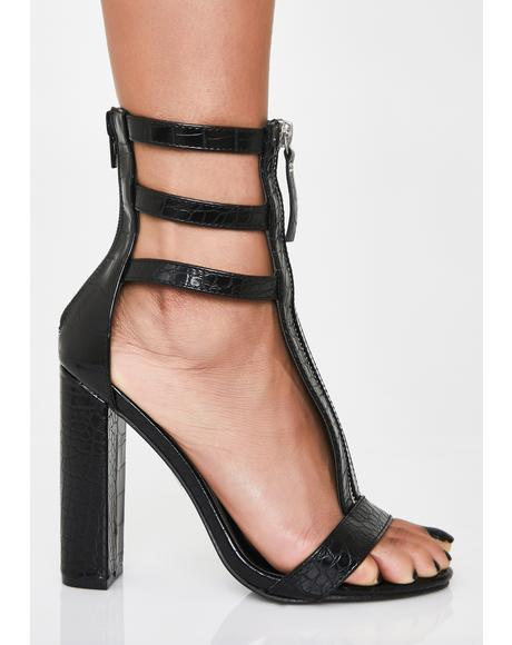 Dark Venom Elixir High Heels