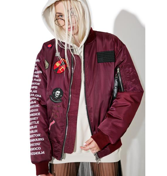 Civil Clothing Rebel Tour MA-1 Bomber Jacket