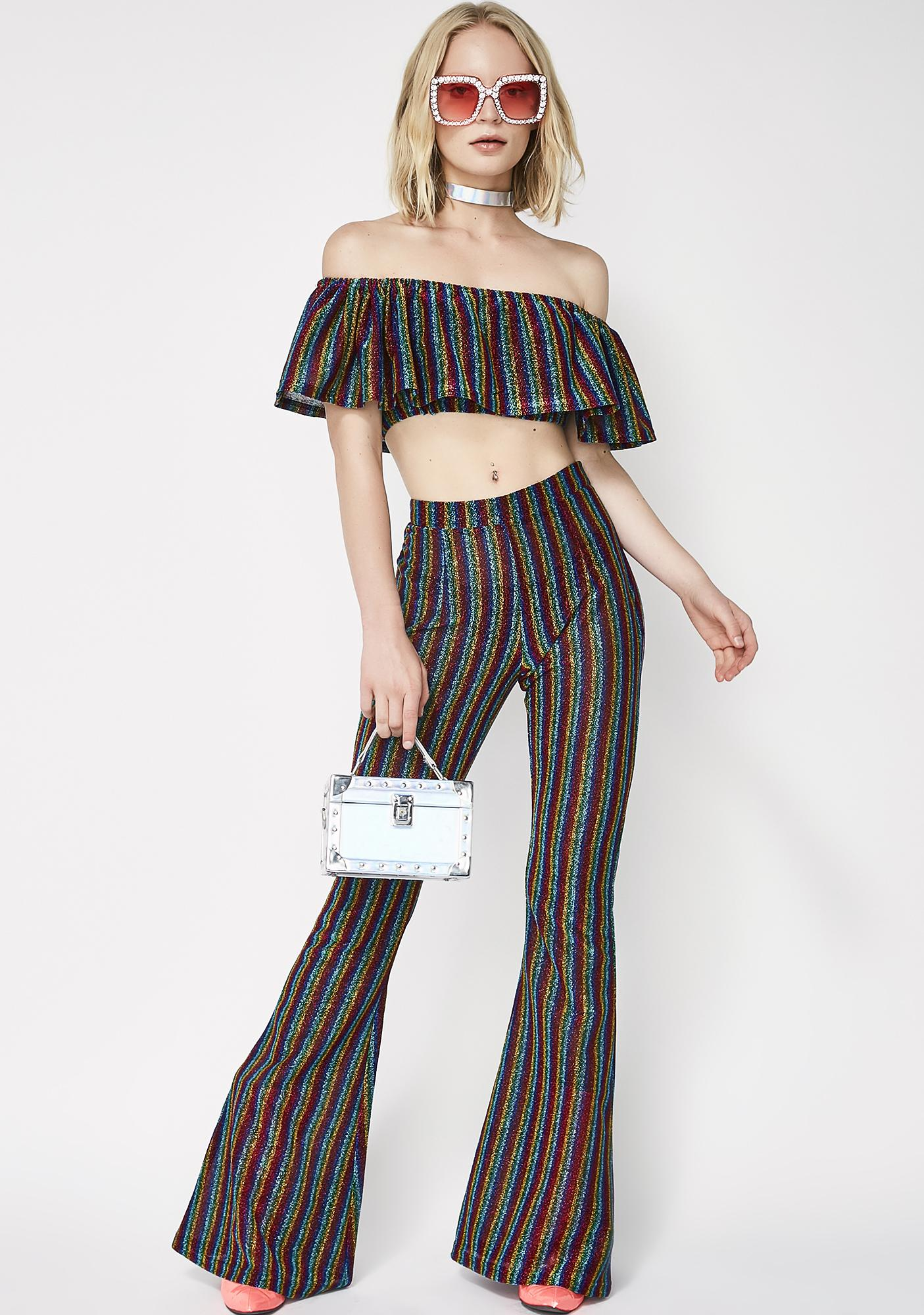 Elsie & Fred Magnetism Crop Top