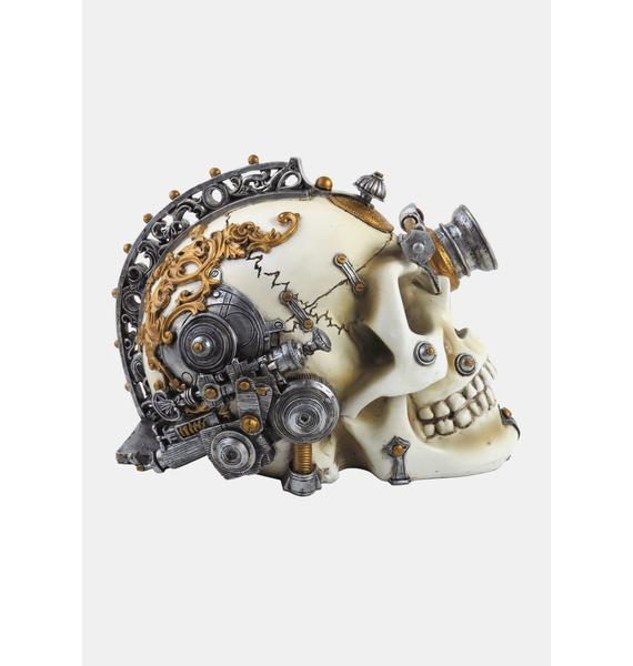 Alchemy England Erasmus Darwin's Steam Cerebrum Skull
