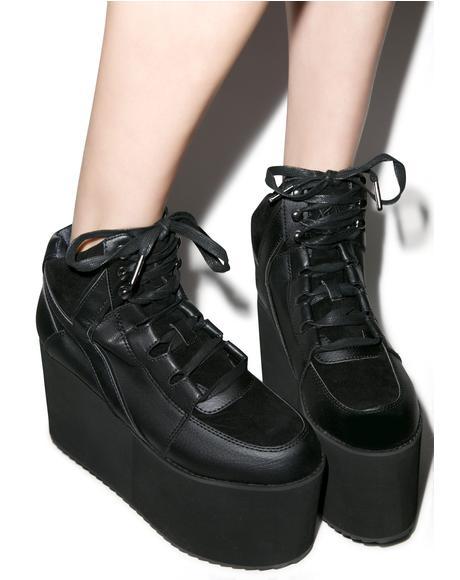 Qozmo Hi Platform Sneakers