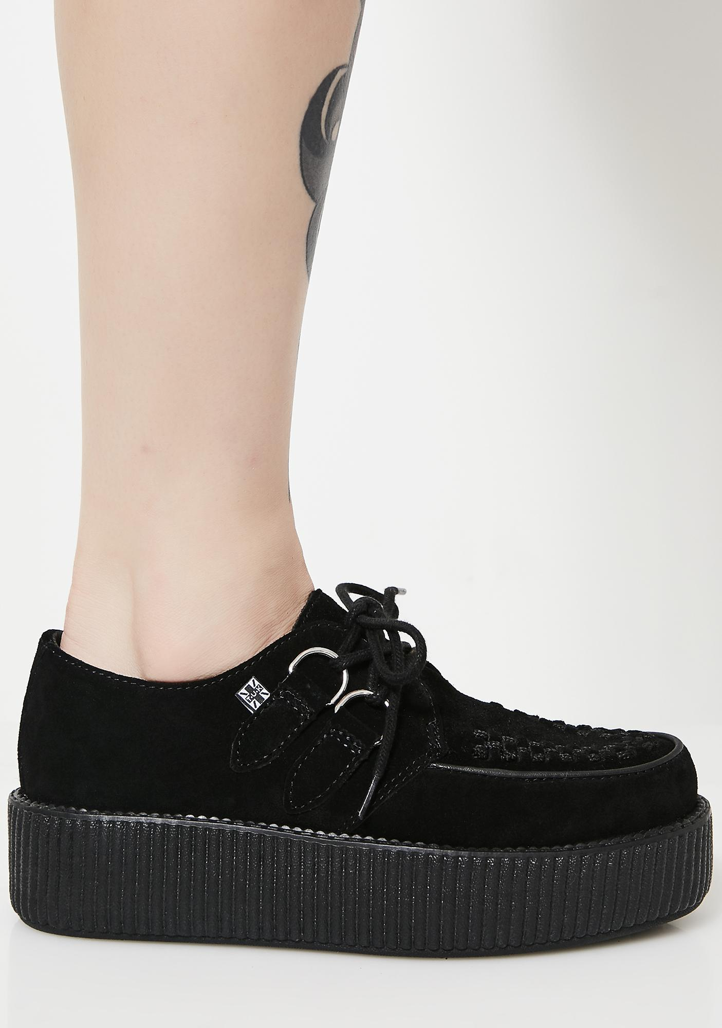 a897d4cac5a ... T.U.K. Suede Viva Mondo Creepers ...
