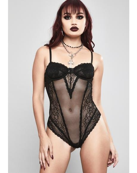 Taste The Noise Lace Bodysuit