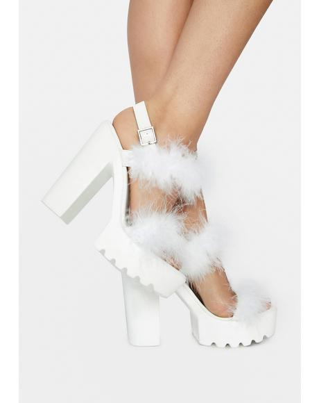 Icy Top Rating Fur Heels