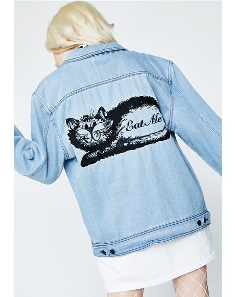 Eat Me Denim Jacket
