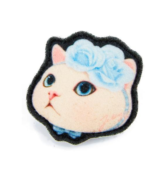 Jetoy Blue Rose Hair Tie