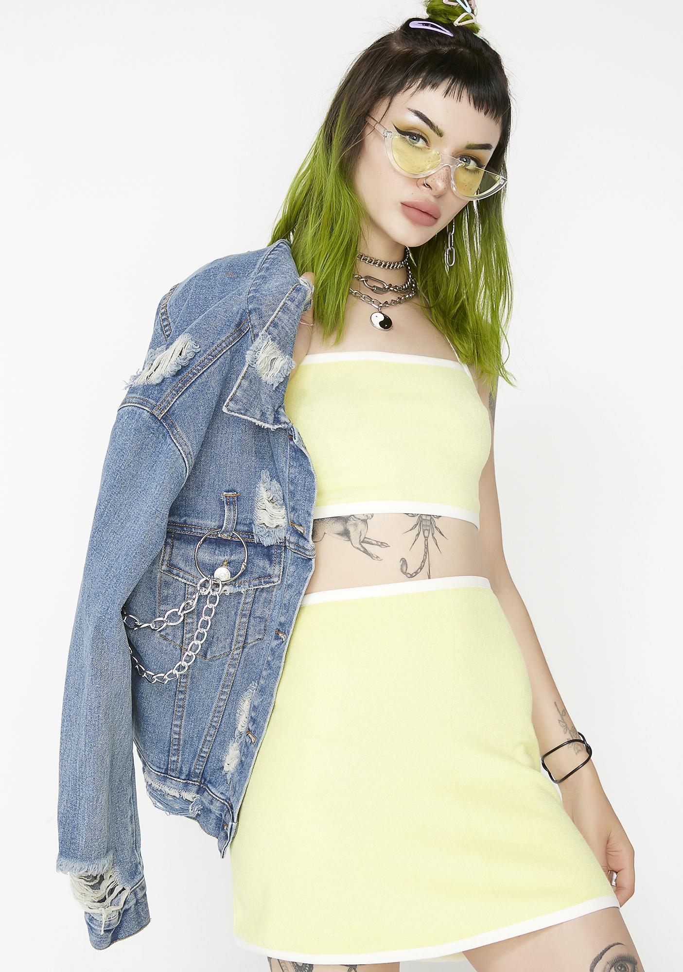 Spoiled Rotten A-Line Skirt