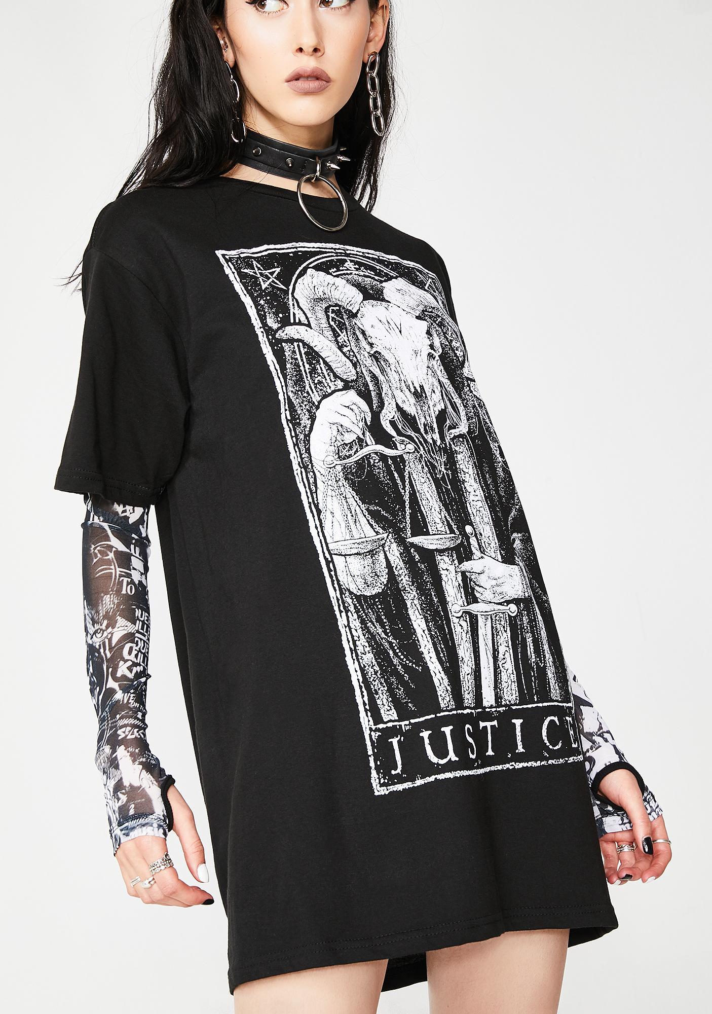 Mortus Viventi Justice T-Shirt