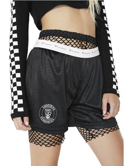 Suicidal Mesh Shorts
