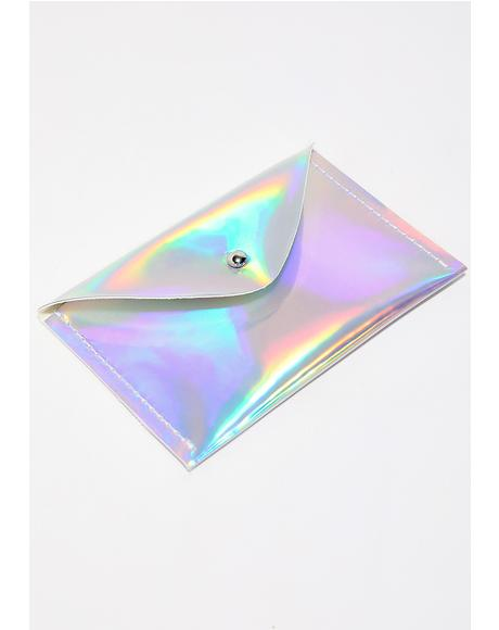 Holographic Card Holder