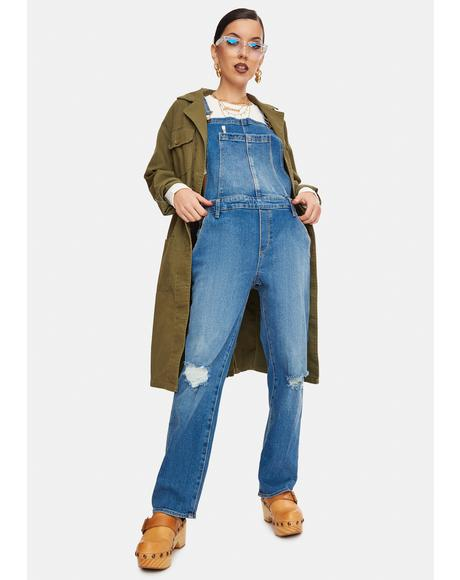 Woodstock Denim Overalls