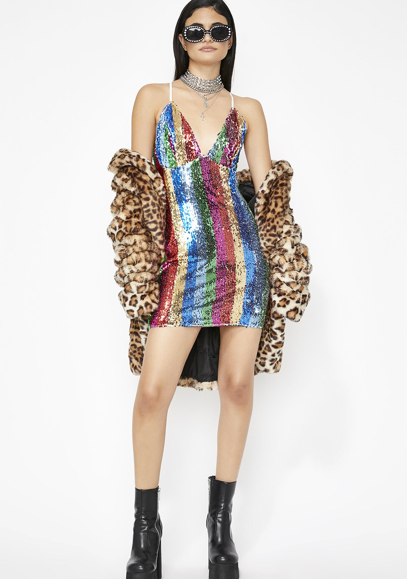Dreamy Bling Sequin Dress