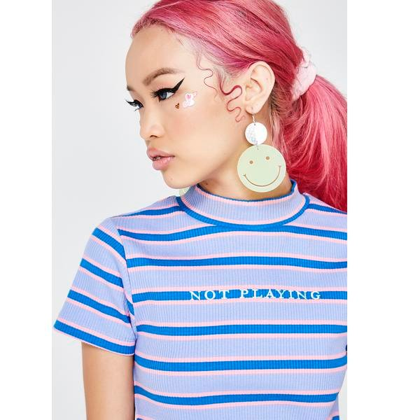 Lazy Oaf Not Playing T-Shirt